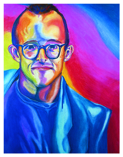 Keith Haring by Anders da Silva